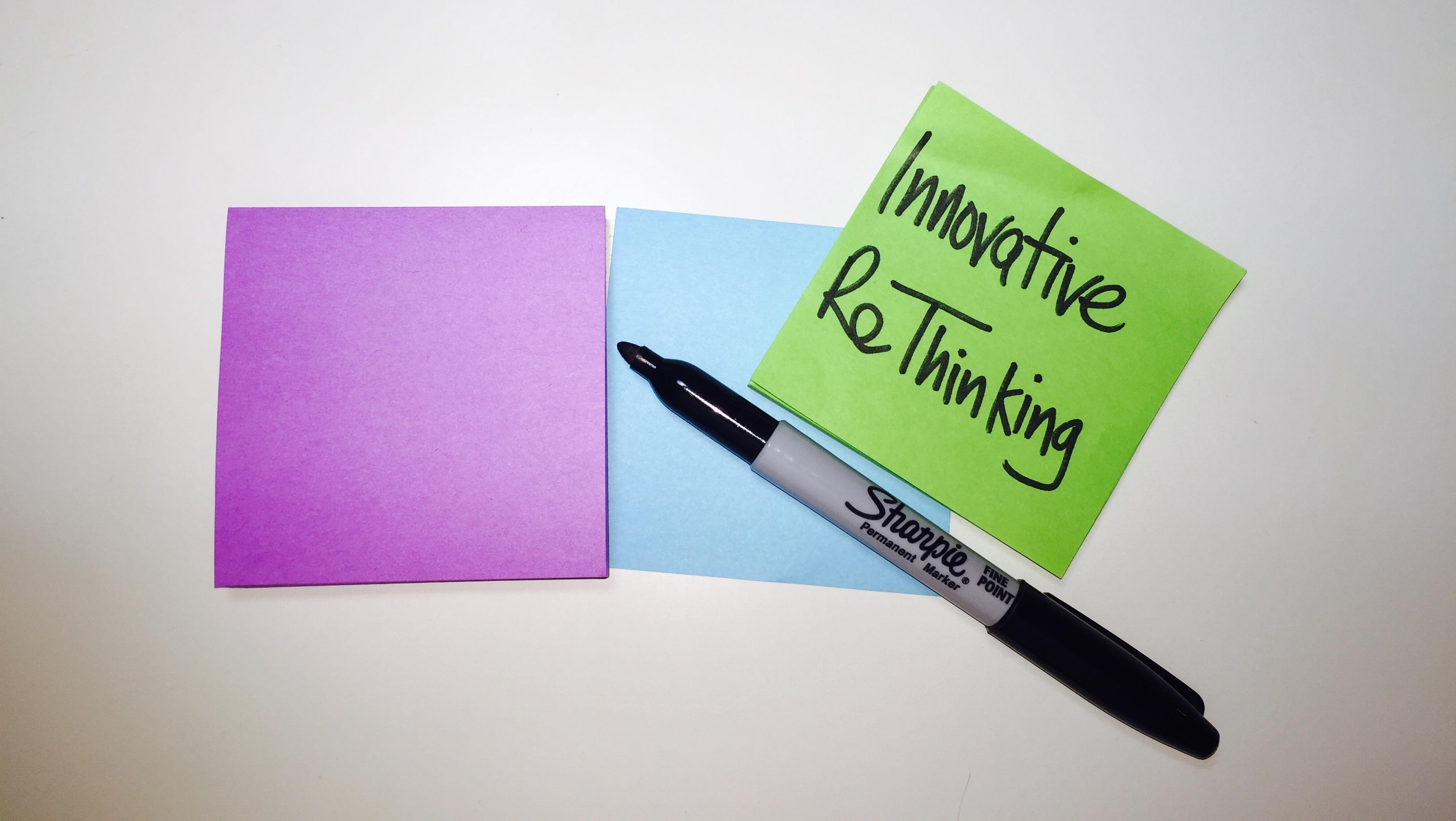 Innovative Rethinking
